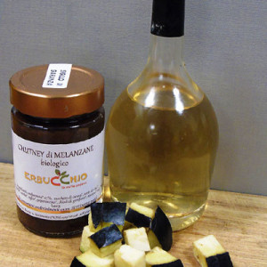 chutney biologico di melanzane